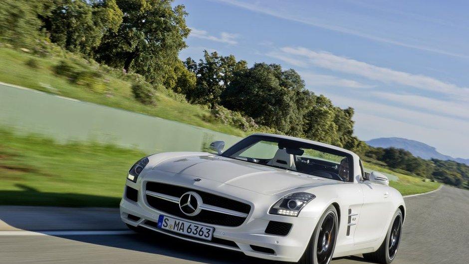 Mercedes SLS Roadster : prix fixé à 209.000 euros !
