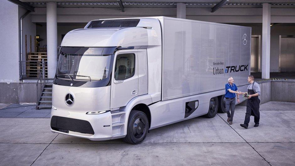 Le Mercedes-Benz Urban eTruck sera sur les routes en 2017 !