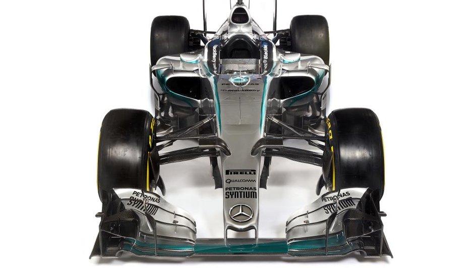 F1 2015 : Mercedes  présente officiellement la W06
