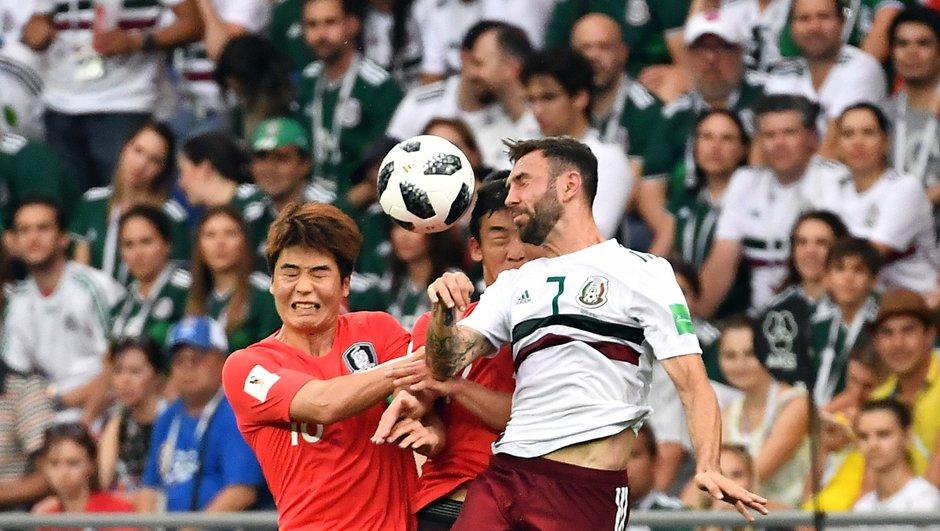 Mexique-Corée du Sud ( 2-1) : le match en un coup d'oeil