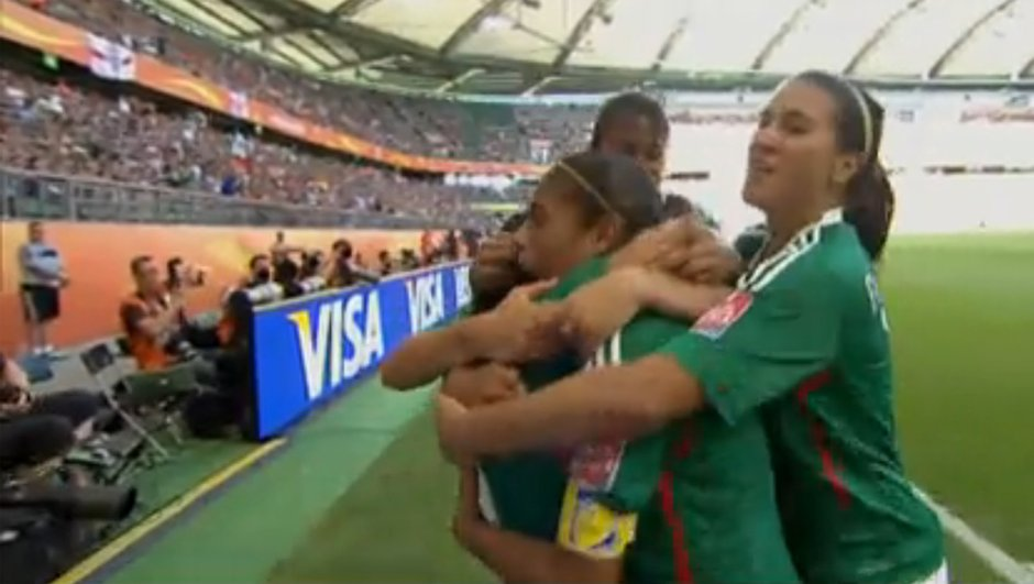 Coupe du monde féminine : l'incroyable but d'Ocampo (vidéo)