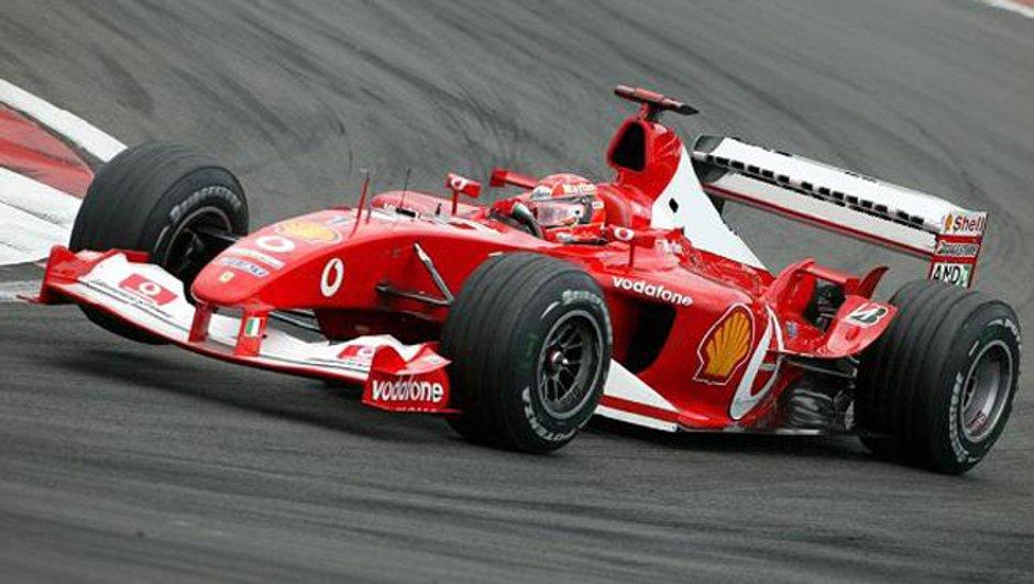 Formule 1 : Michael Schumacher se prépare