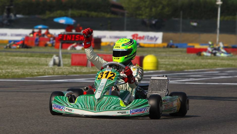 Mick Junior Schumacher, 15 ans et déjà vice-champion du monde de karting
