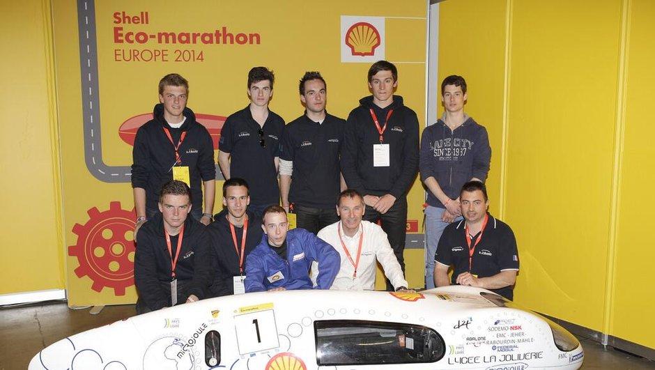 Eco-Marathon 2014 : 3.314,9 km avec 1 litre d'essence !