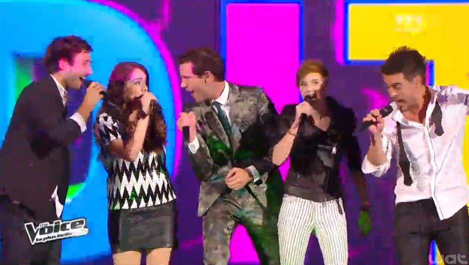 """The Voice 3 - VIDEO : La transformation réussie d'Elodie, sublime sur """"Wicked Game"""""""