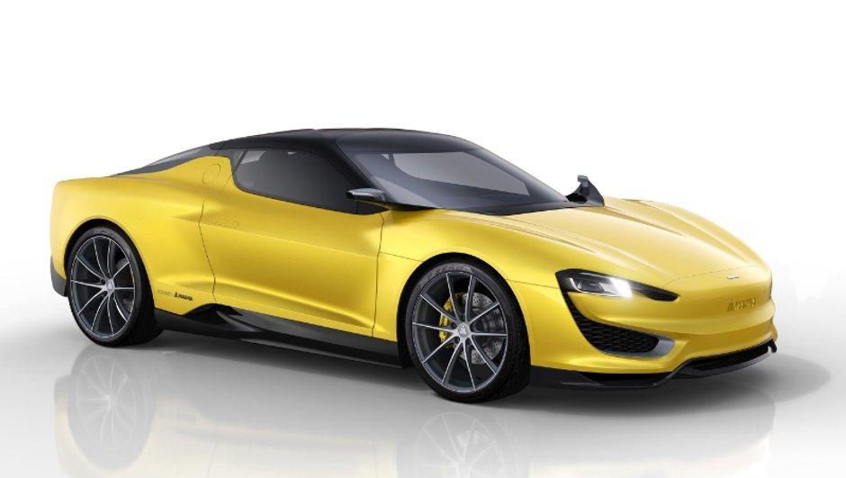 Salon de Genève 2015 : Magna Steyr Mila Plus, une sportive hybride rechargeable très aboutie