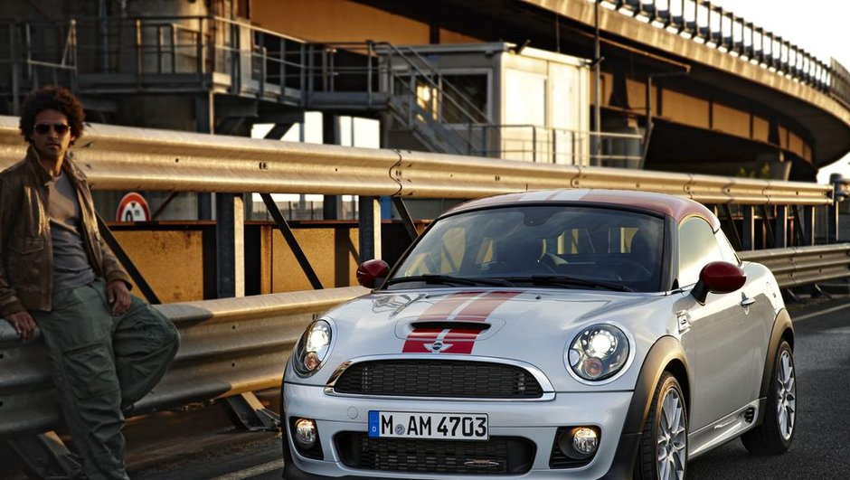 MINI Coupé : photos officielles avant Francfort