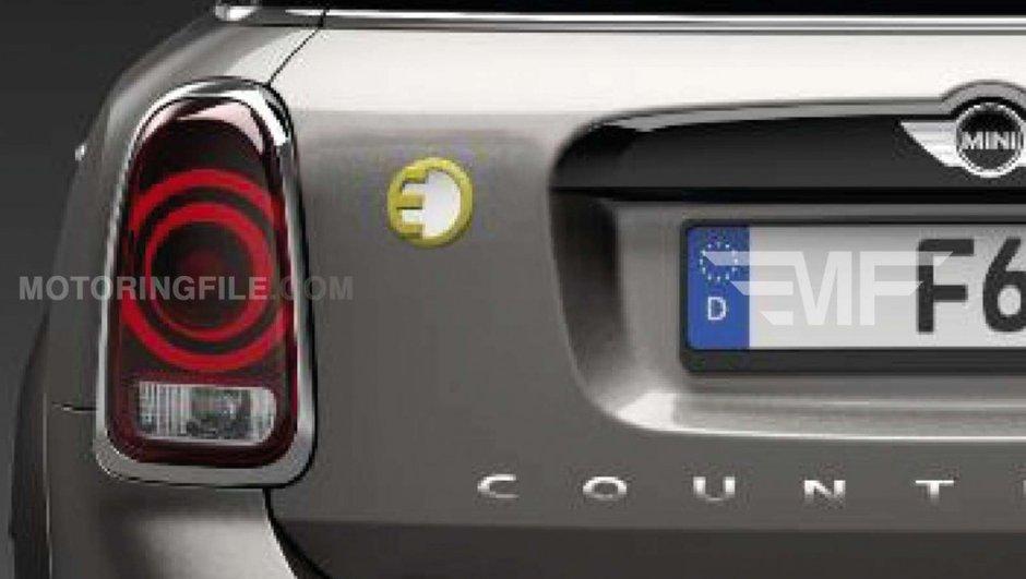 Scoop : le futur MINI Countryman 2016 pourrait être un hybride rechargeable !