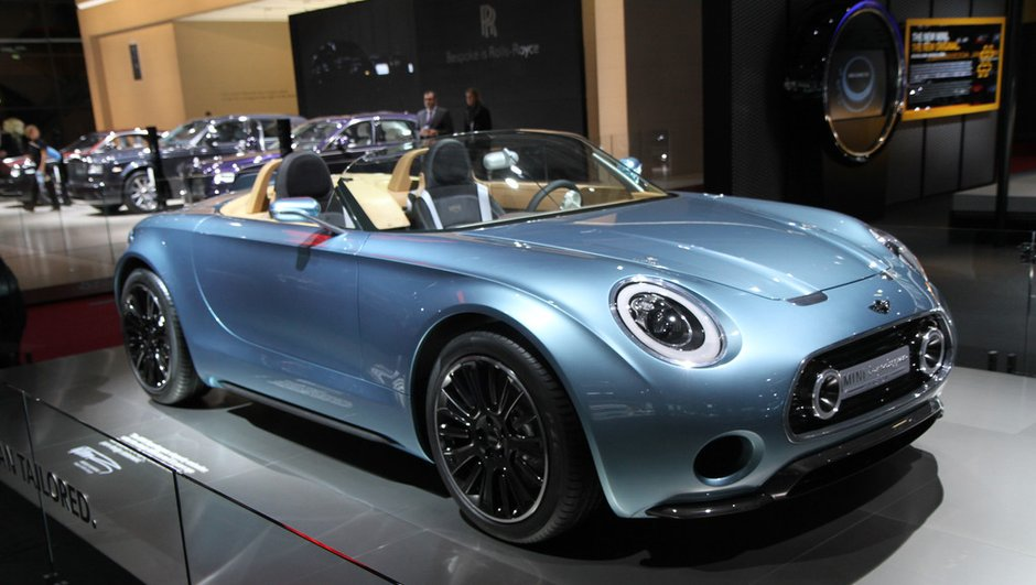 Mondial de l'Automobile 2014 : Mini Superleggera Vision, l'élégance So British