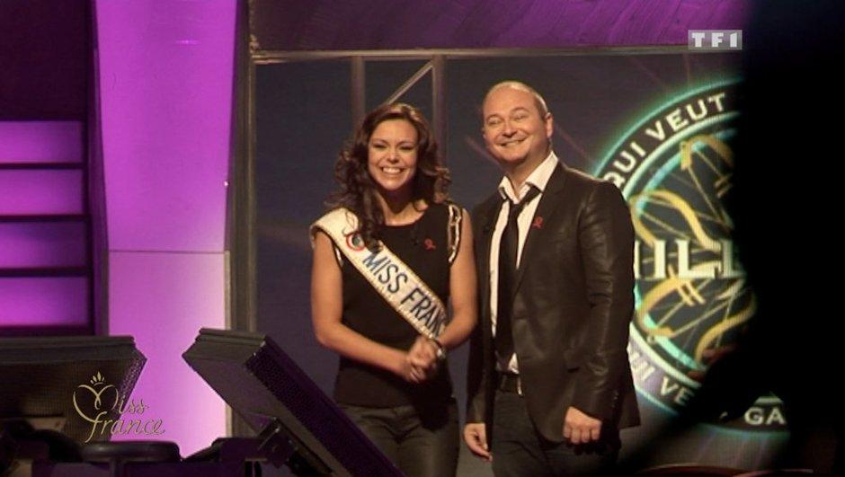 Miss France et Cauet, partenaires d'un soir pour Sidaction