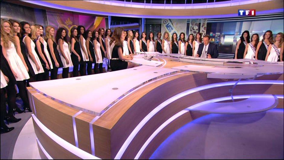 Miss France 2014 : qui sont les 33 prétendantes ?