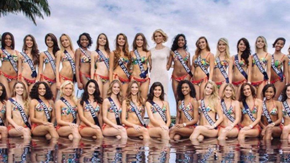 Premier shooting photo pour les Miss à La Réunion