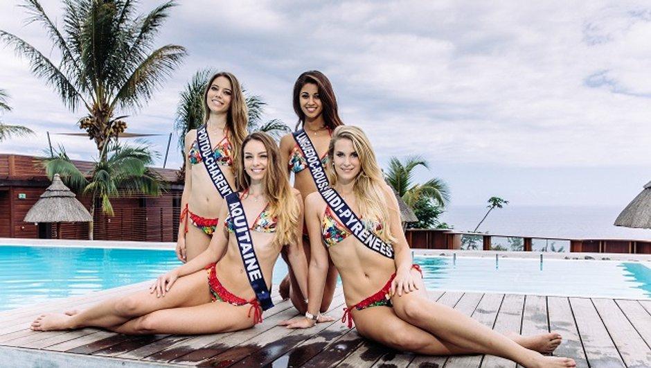 Les premières photos des Miss en maillot de bain