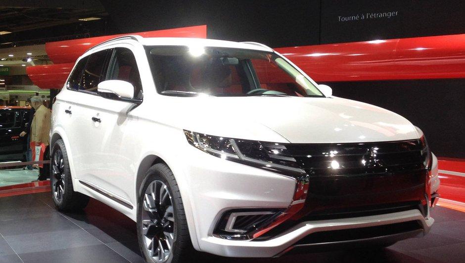 Mondial de l'Automobile 2014 : Mitsubishi Outlander PHEV Concept-S, un SUV plus sophistiqué