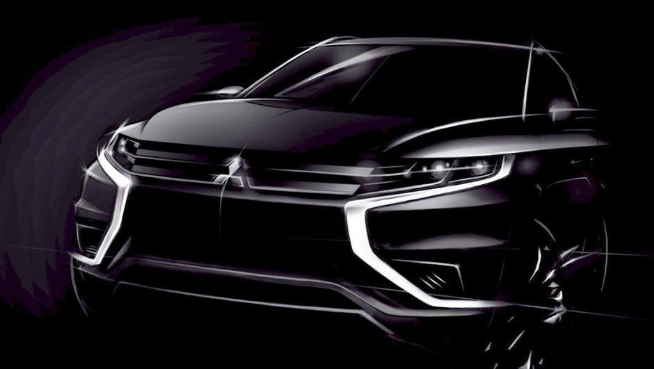 Mitsubishi Outlander PHEV Concept-S 2014 : le lifting préfiguré au Mondial