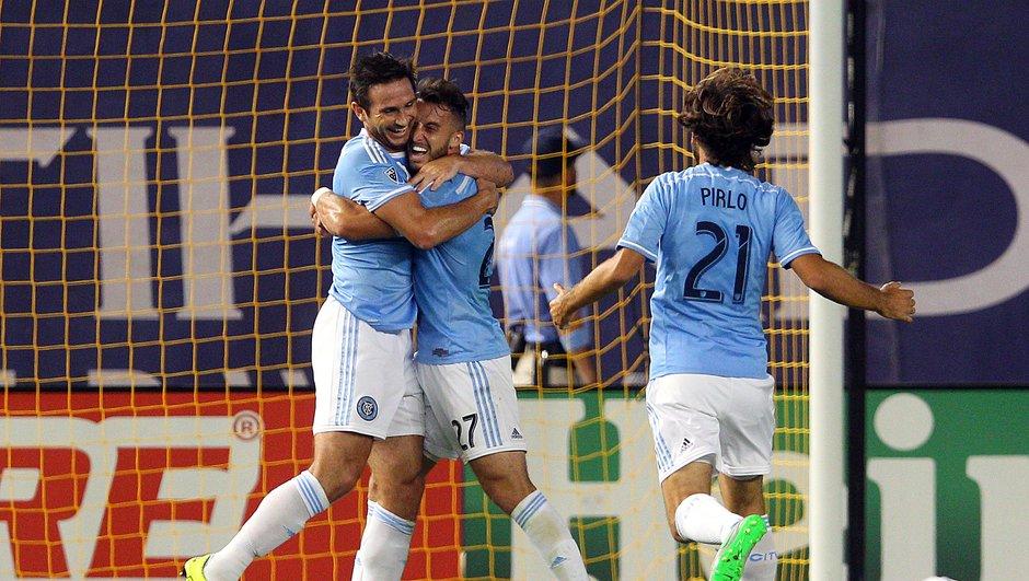 MLS : Le premier but de Lampard avec New York City (VIDEO)