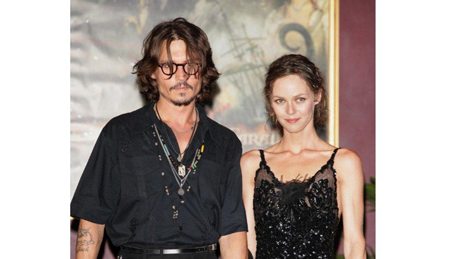 Vanessa Paradis et Johnny Depp amoureux... au cinéma !