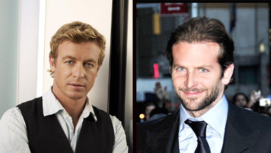Look : Simon Baker et Bradley Cooper ou le retour du gilet !