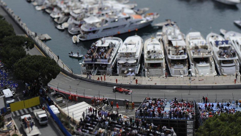 Grand Prix F1 de Monaco : la piste endommagée
