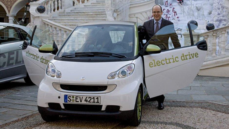 Dix Smart électriques à Monaco