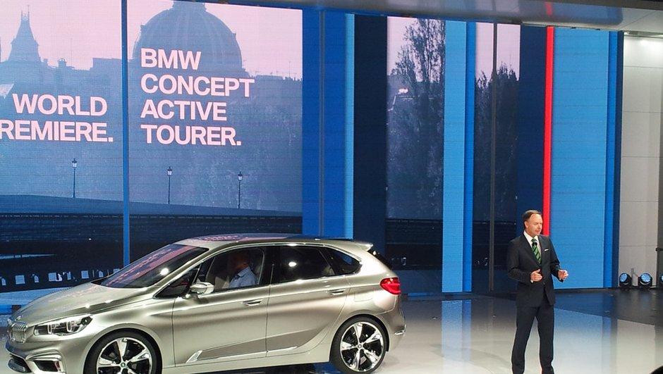 Mondial de l'Auto 2012 Live : BMW Concept Active Tourer, un aperçu du futur