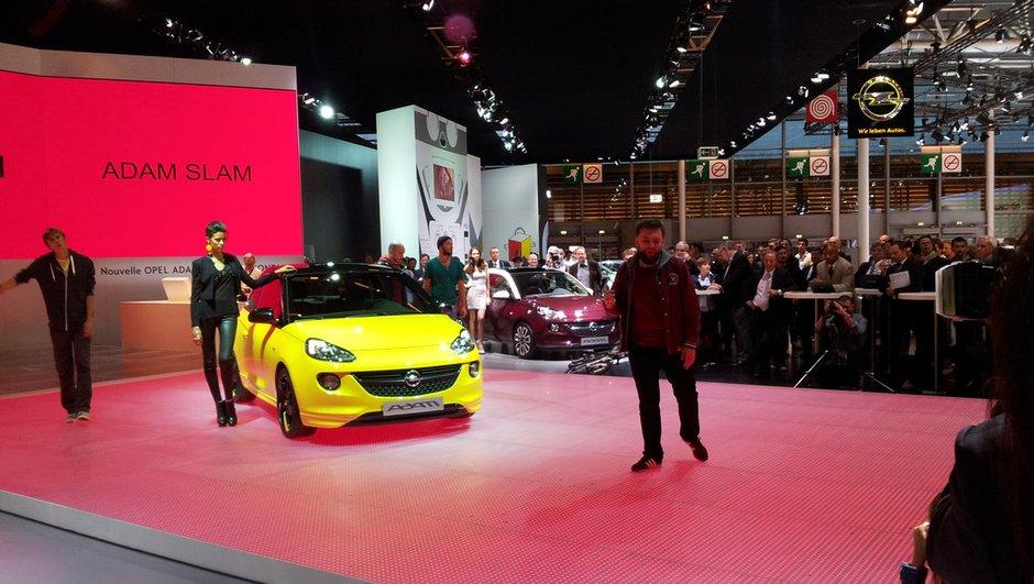 Mondial de l'Auto 2012 Live : une Opel Adam haute en couleurs