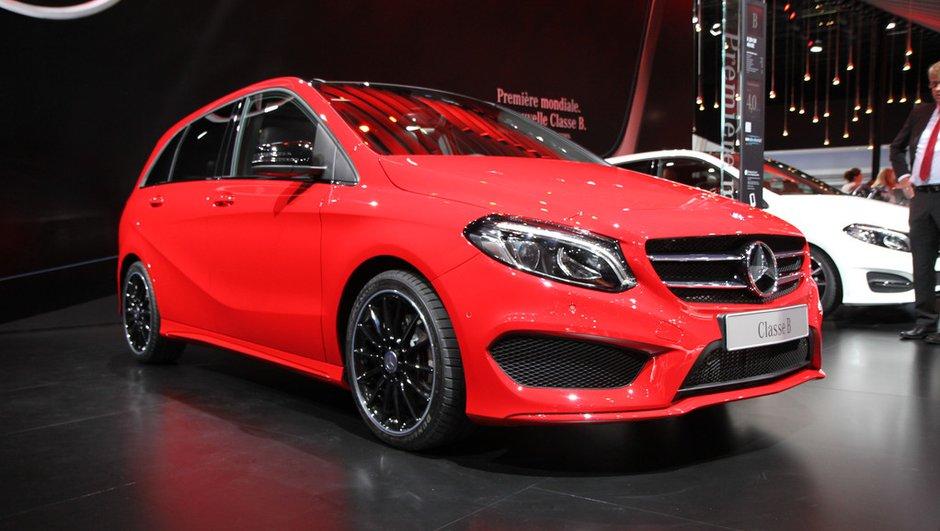 Mondial de l'Automobile 2014 : le Mercedes Classe B arrive dans une version restylée