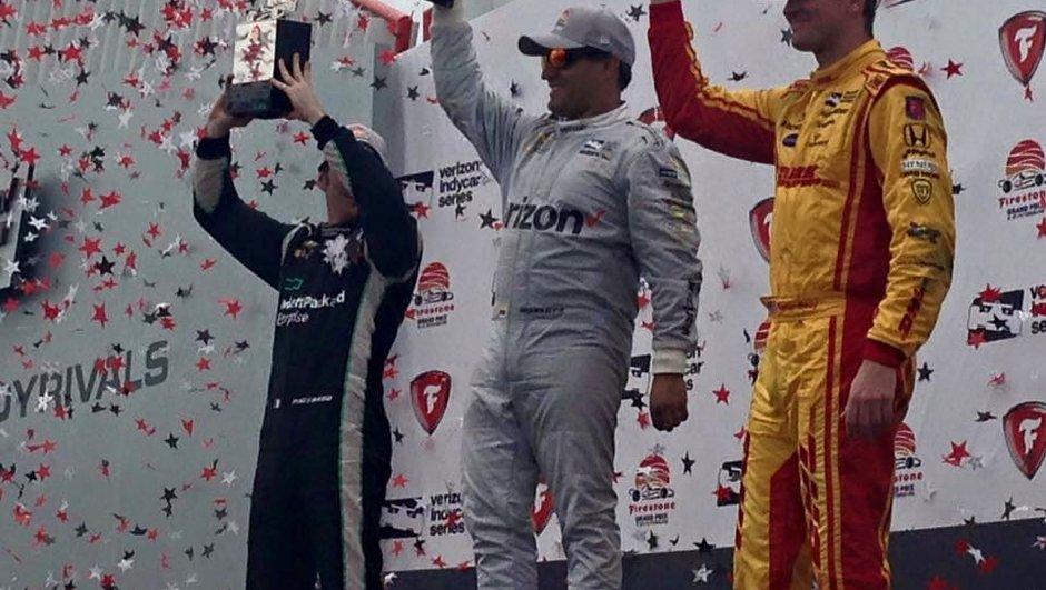 Indycar – St Petersburg 2016 : Montoya vainqueur, Pagenaud second