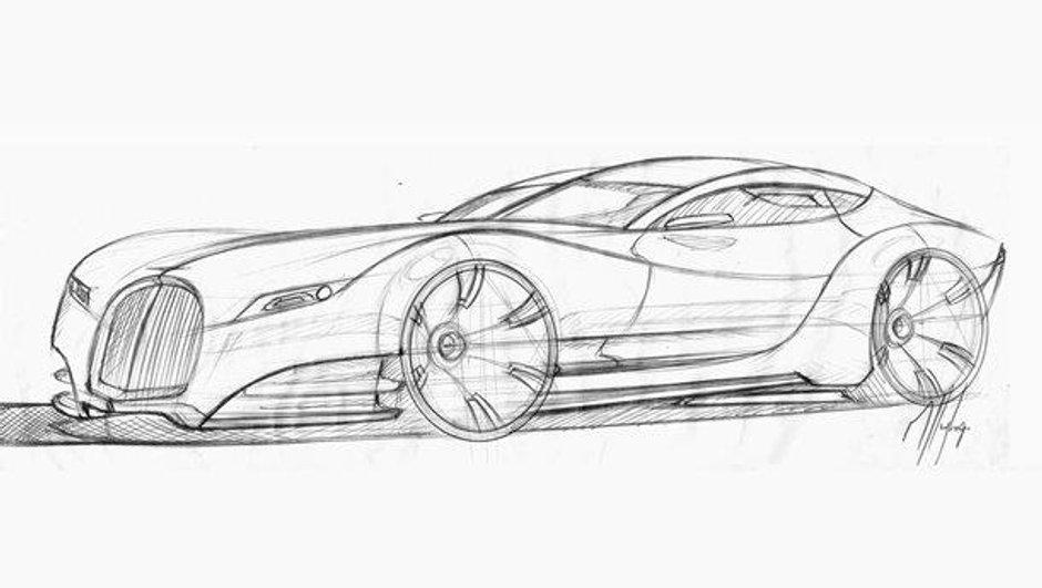 Morgan Eva GT : première image du futur coupé