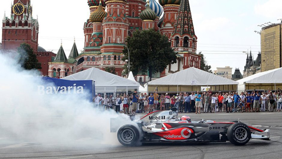 F1 : un Grand prix de Moscou pour la saison 2012 ?