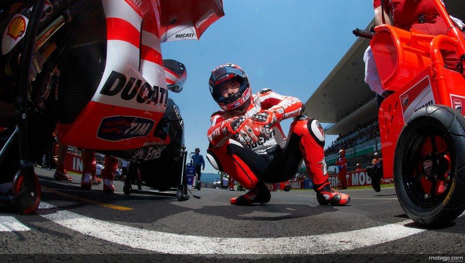 MotoGP : Nicky Hayden encore blessé !