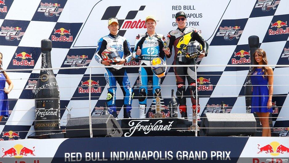 Moto2 2013 - Indianapolis : Rabat prive Nakagami d'un premier succès