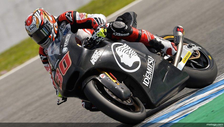 Moto2 2014 : Nakagami s'affirme lors des derniers tests