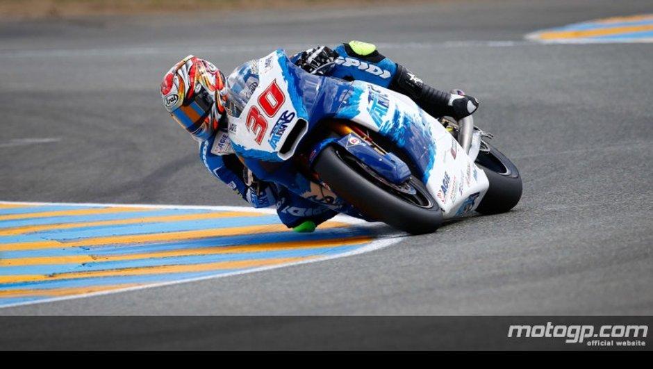 Moto2 - Qualifications GP de France : la pole pour Nagakami, 3è temps pour Zarco