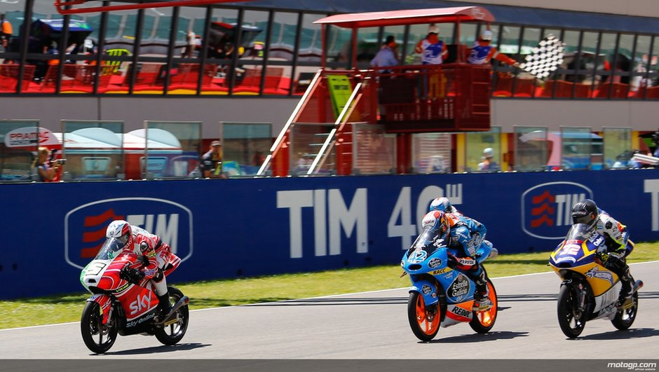 Moto3 2014 - Italie : Fenati triomphe sur ses terres, au terme d'une course à suspense
