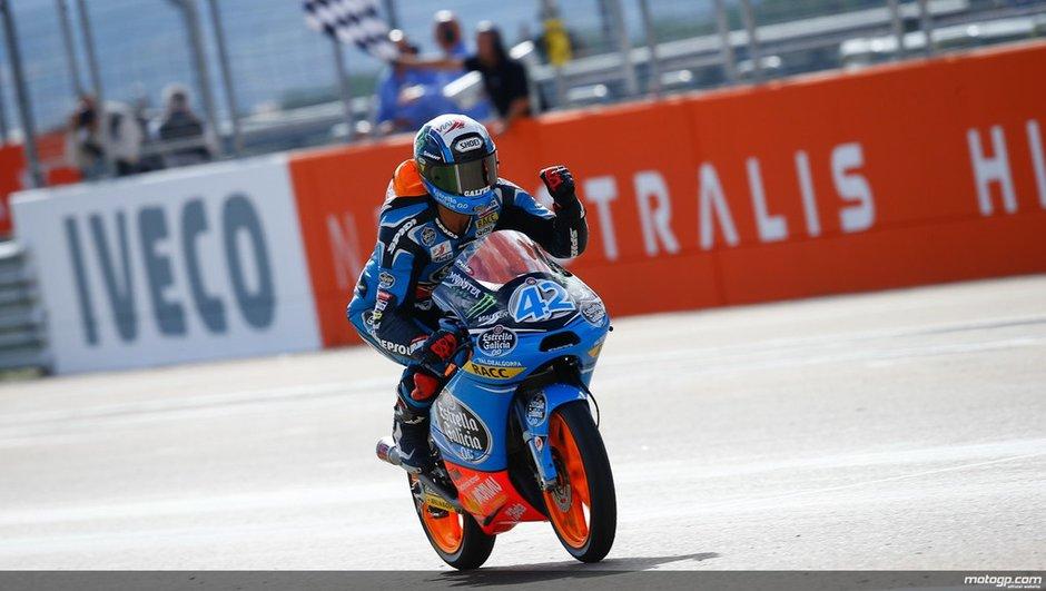 Moto3 - Aragon 2013 : Rins s'affirme à domicile