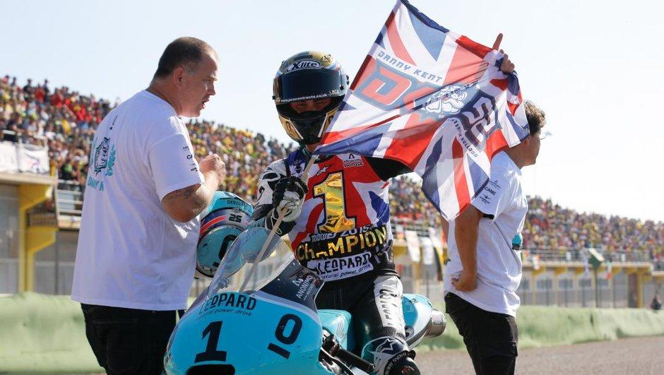 Moto3 Valence : Danny Kent sacré Champion du Monde 2015