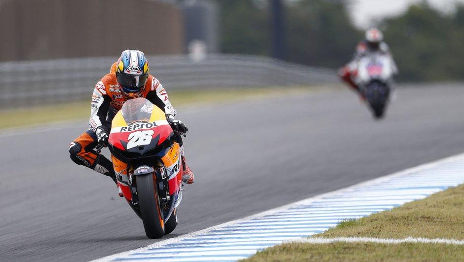 """MotoGP -  Malaisie : Pedrosa """" vraiment heureux """" de sa victoire à Sepang"""
