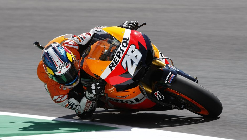 MotoGP - Essais Brno 2012 : Pedrosa confirme, Lorenzo chute
