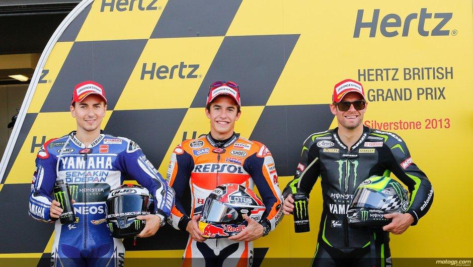 MotoGP - Silverstone 2013 : la grille de départ