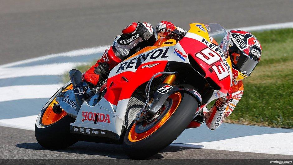 MotoGP 2013 - Indianapolis : Marquez se maintient en tête au warm-up