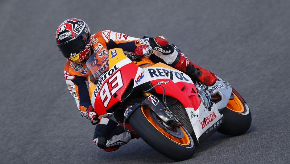 MotoGP 2013 - Essais 3 Allemagne : Marquez se place, Pedrosa chute