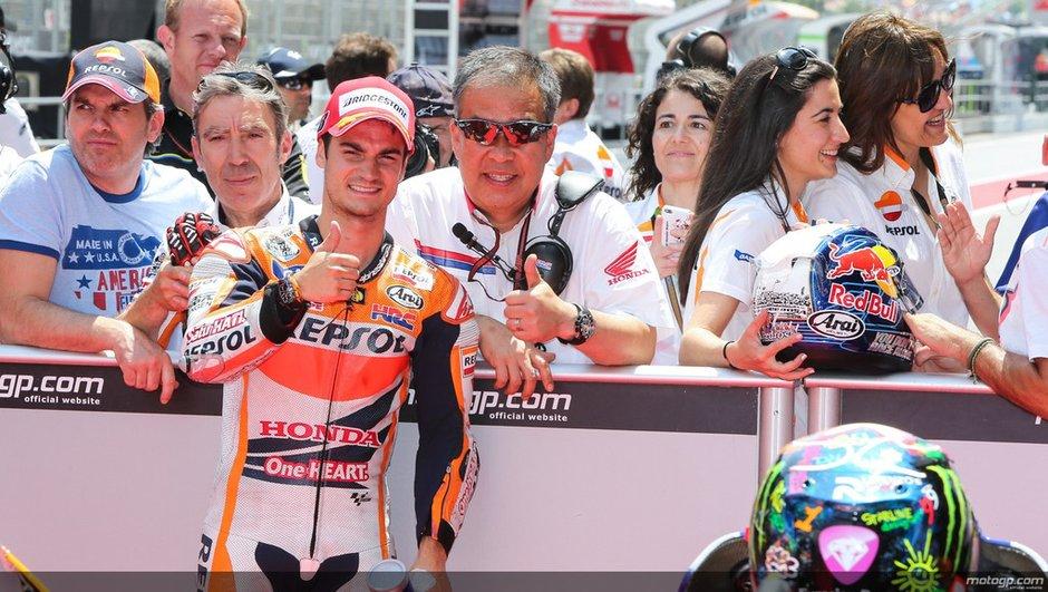 MotoGP 2014 - Catalogne : Pedrosa casse l'hégémonie de Marquez en qualifications