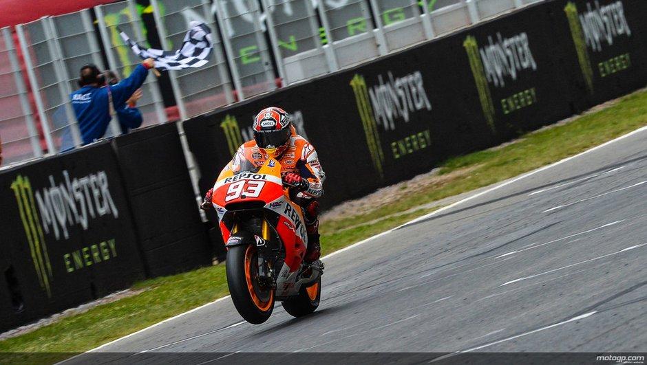 MotoGP 2014 - Catalogne:  Marquez poussé dans ses retranchements