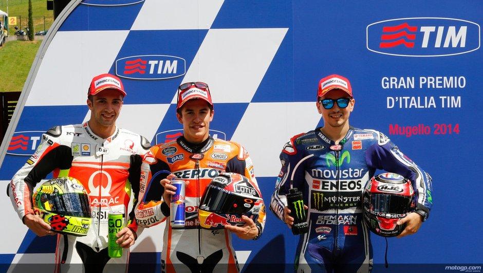 MotoGP 2014 - Italie : Marquez décroche une 6e pole d'affilée
