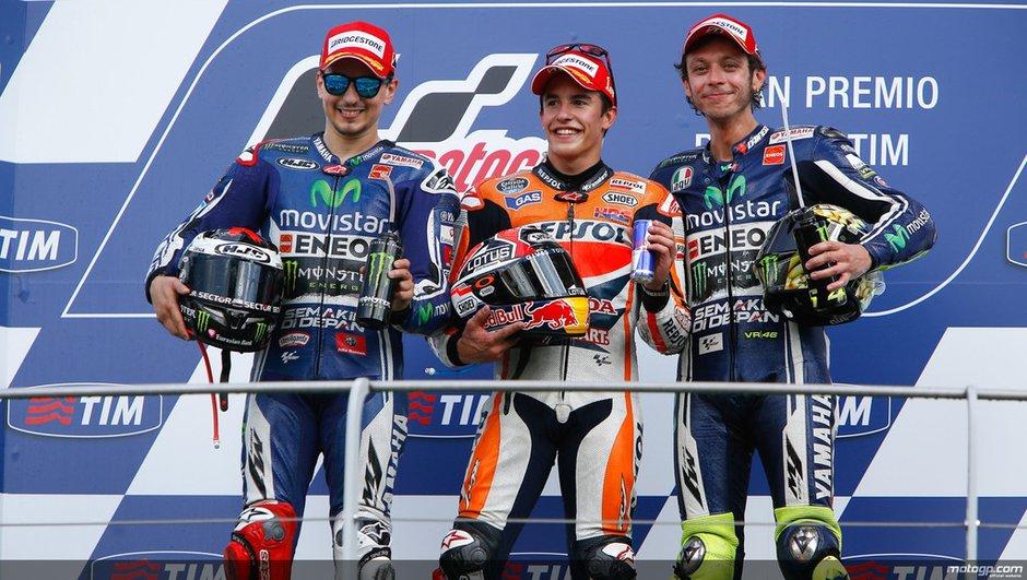 MotoGP : Valentino Rossi toujours en colère contre Marquez !
