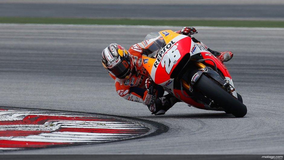 MotoGP 2014 : Rossi et Pedrosa achèvent les tests de Sepang en tête