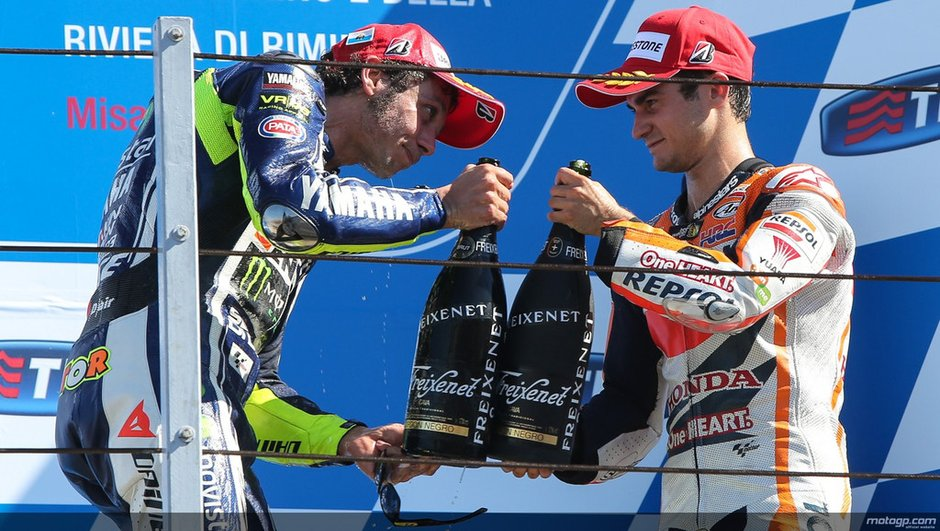 MotoGP 2014 : Pedrosa / Rossi, le match des vice-champions