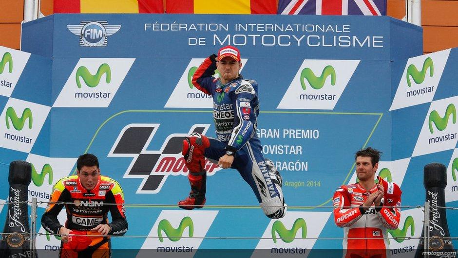 MotoGP - Aragon 2014 : Lorenzo, celui que personne n'attendait