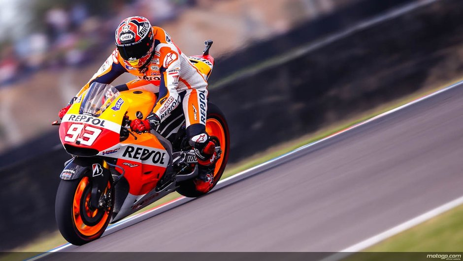 MotoGP 2014 - Argentine : Marquez domine le warm-up